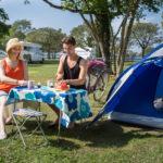 Tälta på camping i Visby Gotland