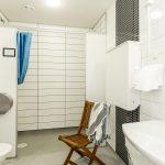 Toalett service hus norra
