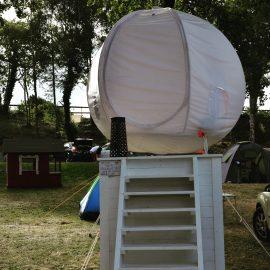 glamping tält hängande unikt boende i Visby strandby